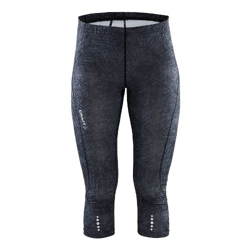 Womens Craft Mind Capris Pants - Line Black XL
