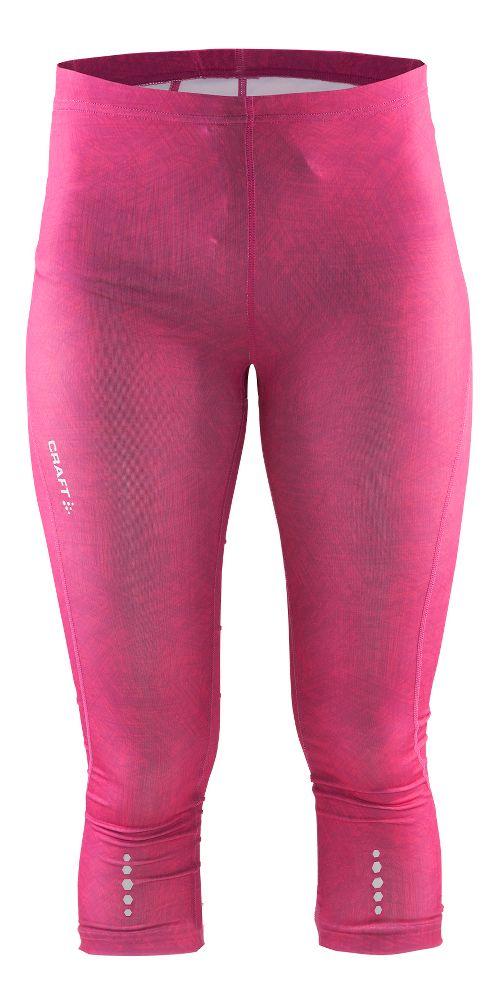 Womens Craft Mind Capris Pants - Line Pop L
