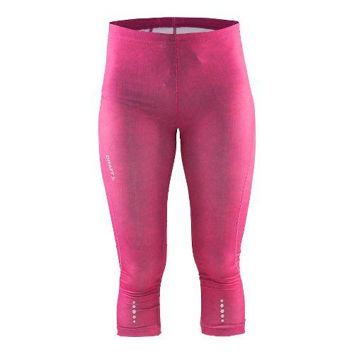 Womens Craft Mind Capris Pants - Line Pop XS