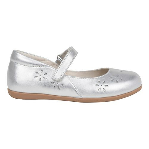 Kids See Kai Run Ginger II Casual Shoe - Silver 10.5C