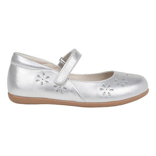Kids See Kai Run Ginger II Casual Shoe - Silver 10C