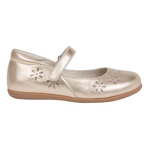 See Kai Run Girls Ginger II Casual Shoe - Gold 10C