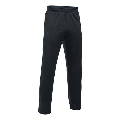 Mens Under Armour Storm Fleece Icon Pants - Black/Stealth Grey MR