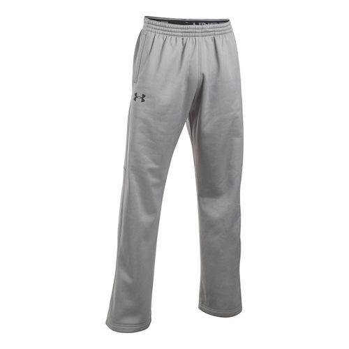 Mens Under Storm Armour Fleece Icon Pants - True Grey Heather 3XL