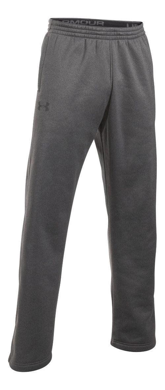 Mens Under Storm Armour Fleece Icon Pants - Carbon Heather XL-T