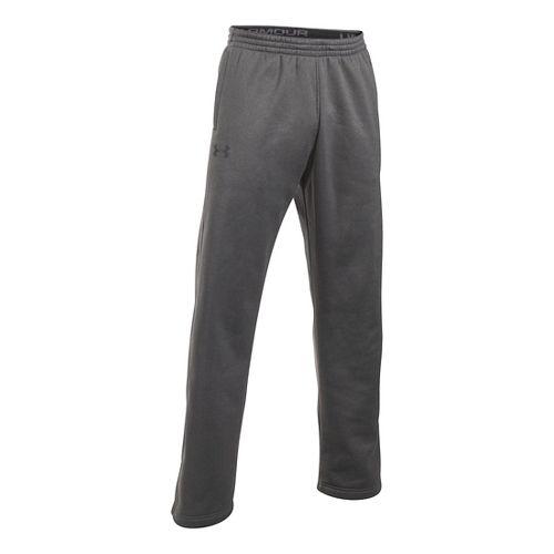 Mens Under Armour Storm Fleece Icon Pants - Carbon Heather XLR