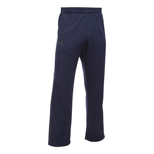 Mens Under Armour Storm Fleece Icon Pants - Navy/Navy 4XLT