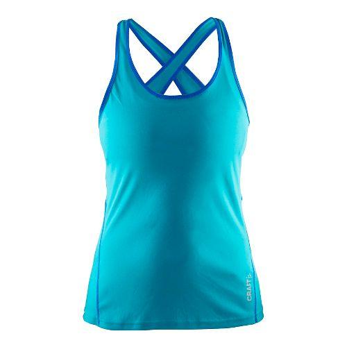 Womens Craft Mind Singlet Sleeveless & Tank Technical Tops - Drop/View M