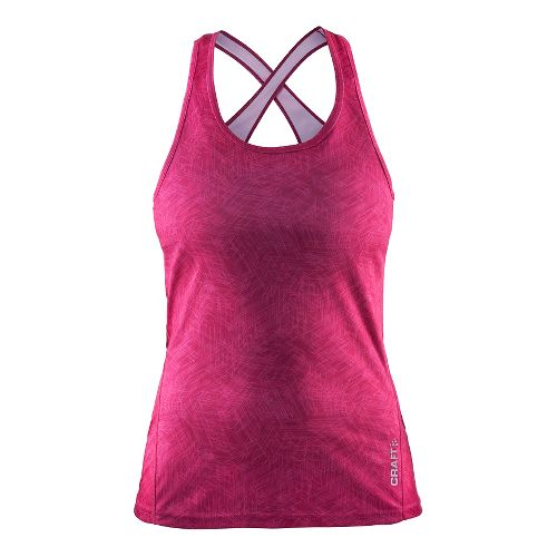 Womens Craft Mind Singlet Sleeveless & Tank Technical Tops - Smoothie Line XS