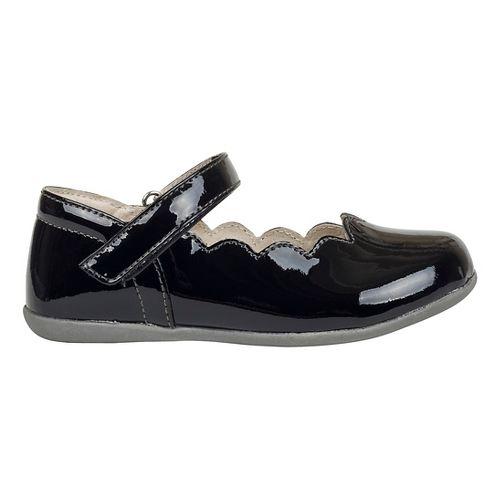 See Kai Run Girls Savannah Patent Casual Shoe - Black Patent 13C