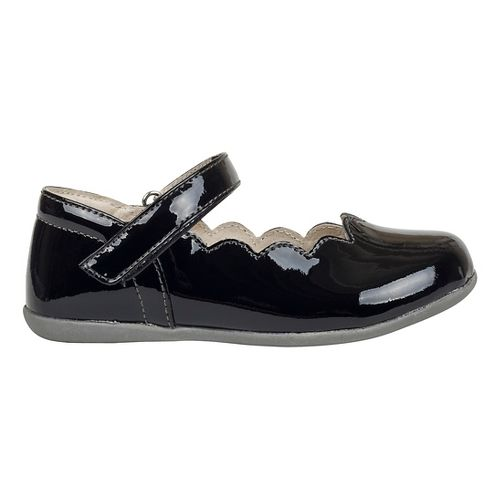 Kids See Kai Run Savannah Patent Casual Shoe - Black Patent 1Y