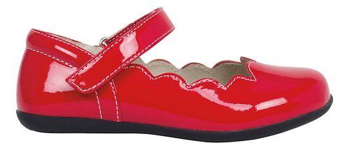 Kids See Kai Run Savannah Patent Casual Shoe - Red Patent 3Y