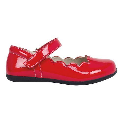 Kids See Kai Run Savannah Patent Casual Shoe - Red Patent 2.5Y