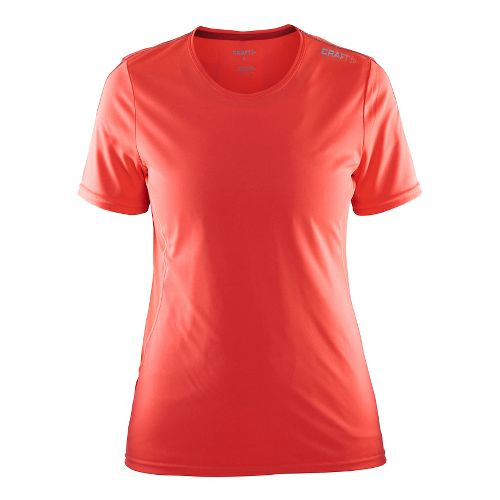 Womens Craft Mind Tee Short Sleeve Technical Tops - Shock/Tempo S