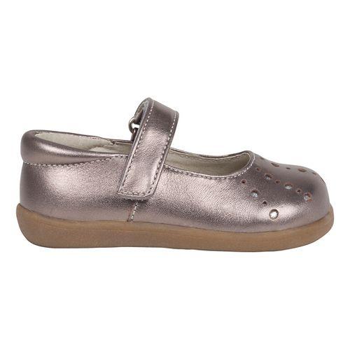 See Kai Run Girls Marta Casual Shoe - Pewter 7C