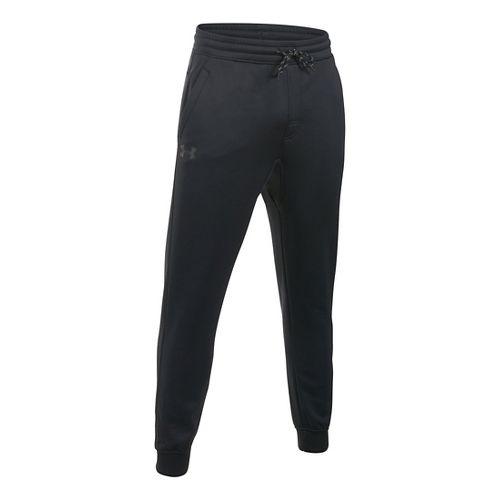 Mens Under Armour Storm Fleece Icon Jogger Pants - Black 3XL-T