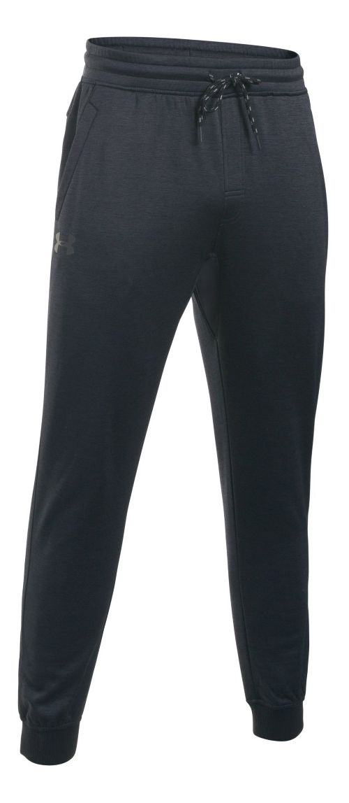 Mens Under Storm Armour Fleece Icon Jogger Pants - Black/Black XXL
