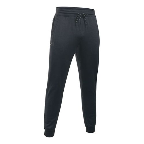 Mens Under Armour Storm Fleece Icon Jogger Pants - Black/Black 3XL