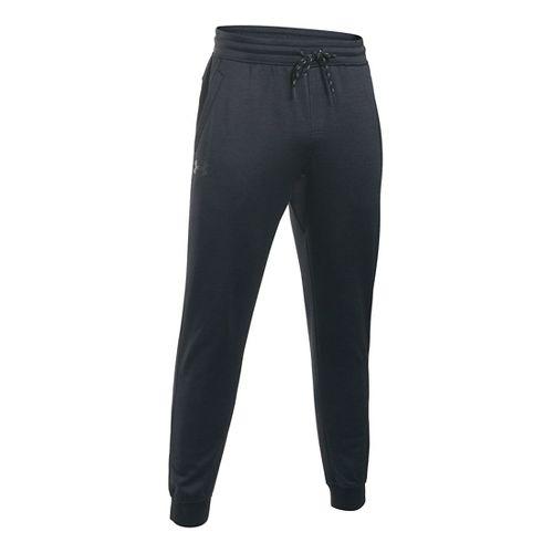 Mens Under Armour Storm Fleece Icon Jogger Pants - Black/Black SR