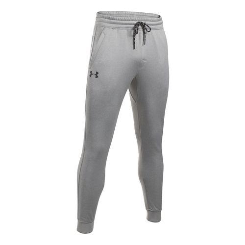 Mens Under Storm Armour Fleece Icon Jogger Pants - True Grey Heather XXL