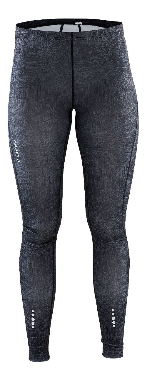 Womens Craft Mind Tights & Leggings Pants - Line Black M