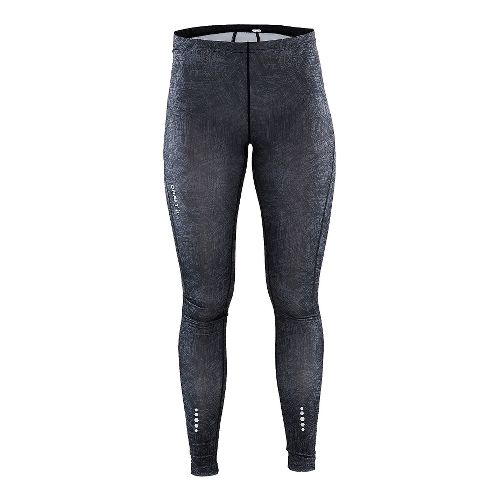 Womens Craft Mind Tights & Leggings Pants - Line Black S