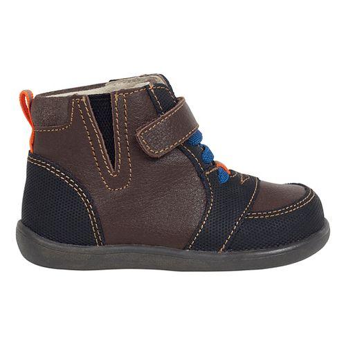 Kids See Kai Run Ian Casual Shoe - Brown 4C