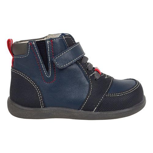 Kids See Kai Run Ian Casual Shoe - Navy/Black 6C
