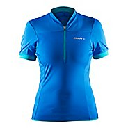 Womens Craft Motion Jersey Short Sleeve Technical Tops - View/Drop XL