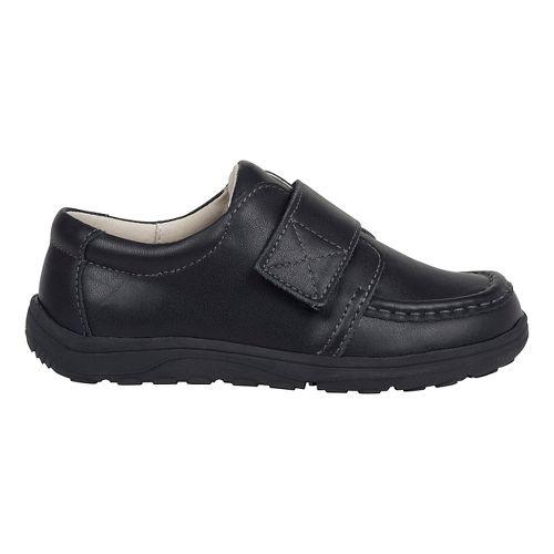 Kids See Kai Run Ross Uniform Casual Shoe - Black Leather 2Y