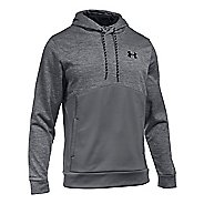Mens Under Armour Storm Armour Fleece Twist Half-Zips & Hoodies Technical Tops
