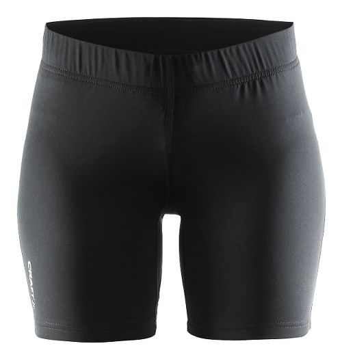Womens Craft Prime Tights Compression & Fitted Shorts - Black L