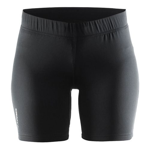 Womens Craft Prime Tights Compression & Fitted Shorts - Black S