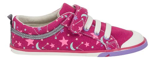 Kids See Kai Run Kristin Casual Shoe - Berry Stars 12C