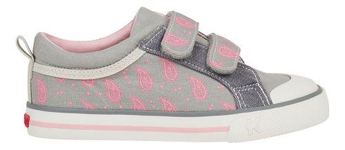 See Kai Run Robyne Casual Shoe - Grey/Pink 1Y