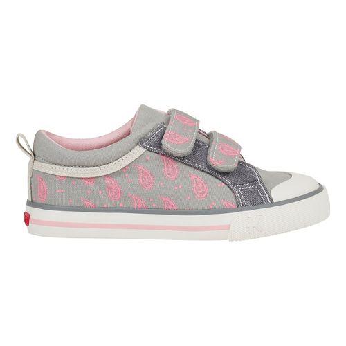 See Kai Run Robyne Casual Shoe - Grey/Pink 12C