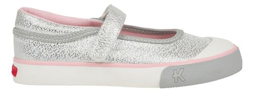 Kids See Kai Run Marie Casual Shoe - Silver Glitter 2.5Y