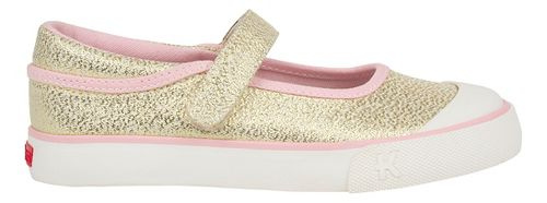 Kids See Kai Run Marie Casual Shoe - Gold Glitter 10C
