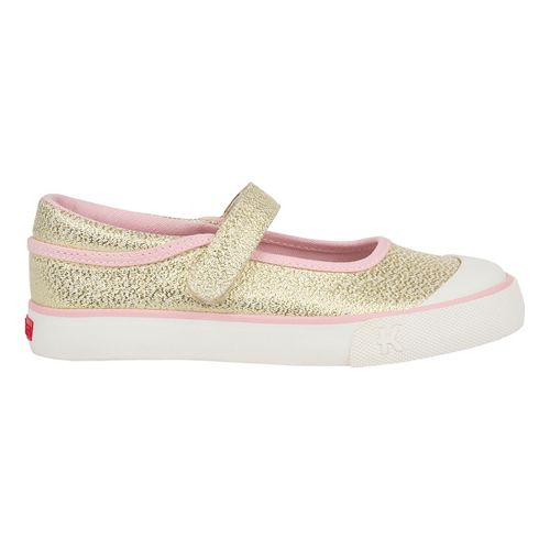 Girls See Kai Run Marie Casual Shoe - Gold Glitter 10.5C