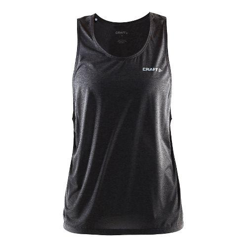 Womens Craft Pure Light Sleeveless & Tank Technical Tops - Black/Platinum L