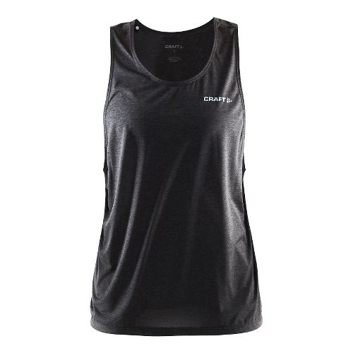 Womens Craft Pure Light Sleeveless & Tank Technical Tops - Black/Platinum XS