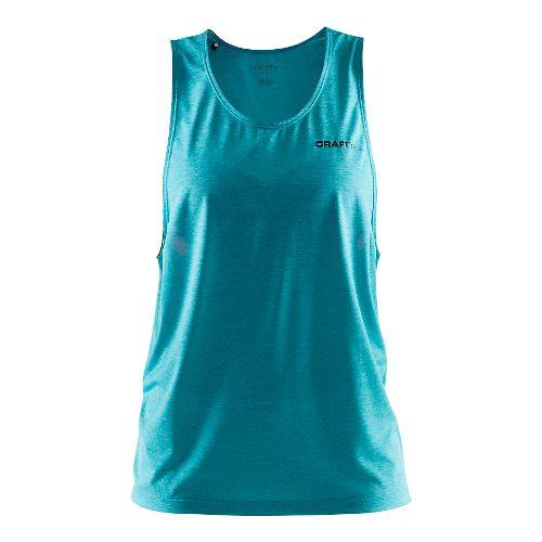 Womens Craft Pure Light Sleeveless & Tank Technical Tops - Drop Melange/Drop XL