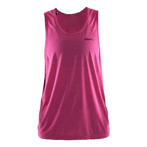 Womens Craft Pure Light Sleeveless & Tank Technical Tops - Smoothie/Black M