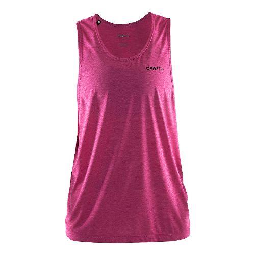 Womens Craft Pure Light Sleeveless & Tank Technical Tops - Smoothie/Black XS