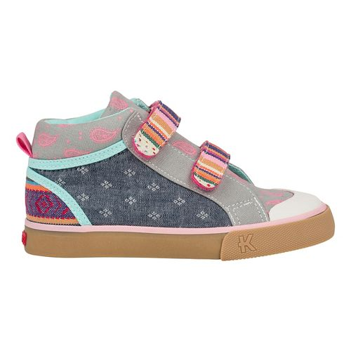 See Kai Run Kya Casual Shoe - Multi Stripe 11.5C