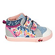 Girls See Kai Run Kya Casual Shoe - Multi Jersey Mix 10C