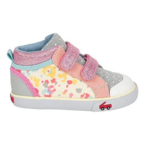 Girls See Kai Run Kya Casual Shoe - Blue Watercolor 9C