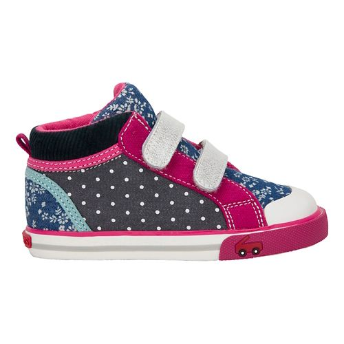 Kids See Kai Run Kya Casual Shoe - Navy/Purple 1Y