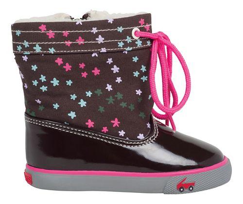 Kids See Kai Run Greta Casual Shoe - Brown 6C