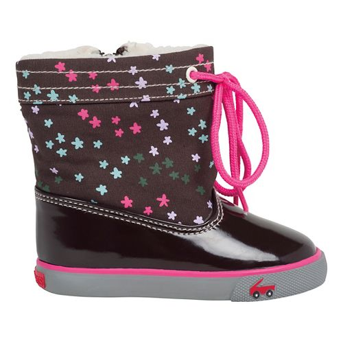 Kids See Kai Run Greta Casual Shoe - Brown 8C